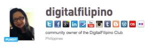 DigitalFilipino Klout Profile
